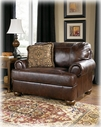 Ashley Axiom - Walnut 4200023 Chair & 1/2