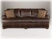 Ashley Axiom - Walnut 4200038 Sofa