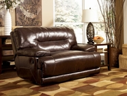 Ashley Exhilaration - Chocolate 4240182 0 Wall Recliner w/Wide Seat Box with Power