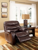 Ashley Rourke - Burgundy 4280025 Rocker Recliner