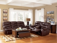 Ashley 4280087-96 Rourke Burgundy Power Reclining Living Room Set
