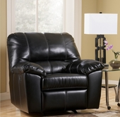 Ashley DuraBlend - Black 4540006 Recliner w/ Power