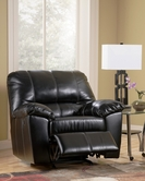 Ashley DuraBlend - Black 4540025 Rocker Recliner
