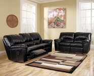 Ashley 4540088-86 Durablend Black Reclining Living Room Set