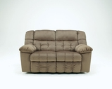 Ashley Lowell - Toffee 5150186 Reclining Loveseat