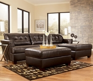 ASHLEY 5240066-17 Dixon DuraBlend-Chocolate Right Corner Chaise Sectional
