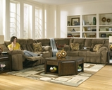 Ashley 5460136-77-94 Macie-Brown Reclining Sectional