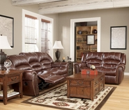 Ashley 5480188-86 Wesley Sienna Faux Leather Reclining set