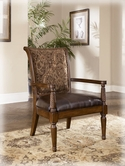 Ashley Barcelona - Antique 5530060 Showood Accent Chair