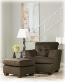 Ashley Dallas - Chocolate 5650014 ottoman