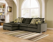 ASHLEY 5820116-67 Pewter Left Chaise Sectional