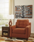 ASHLEY 6220021 Verbena - Chocolate ACCENT CHAIR