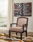 ASHLEY 6220060 Verbena - Chocolate SHOWOOD ACCENT CHAIR
