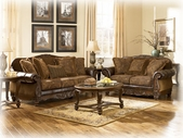 Ashley Fresco DuraBlend - Antique 6310035 Loveseat