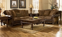ASHLEY 6310038-35 Fresco DuraBlend-Antique Living Room Set