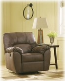 Ashley Amazon-Walnut 6750525 Rocker Recliner