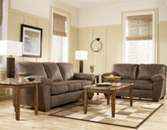 ASHLEY 6750538-35 Amazon-Walnut Living Room Set