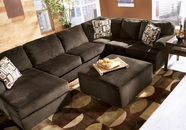 ASHLEY 6840416-67-34 Vista-Chocolate Sofa Sectional