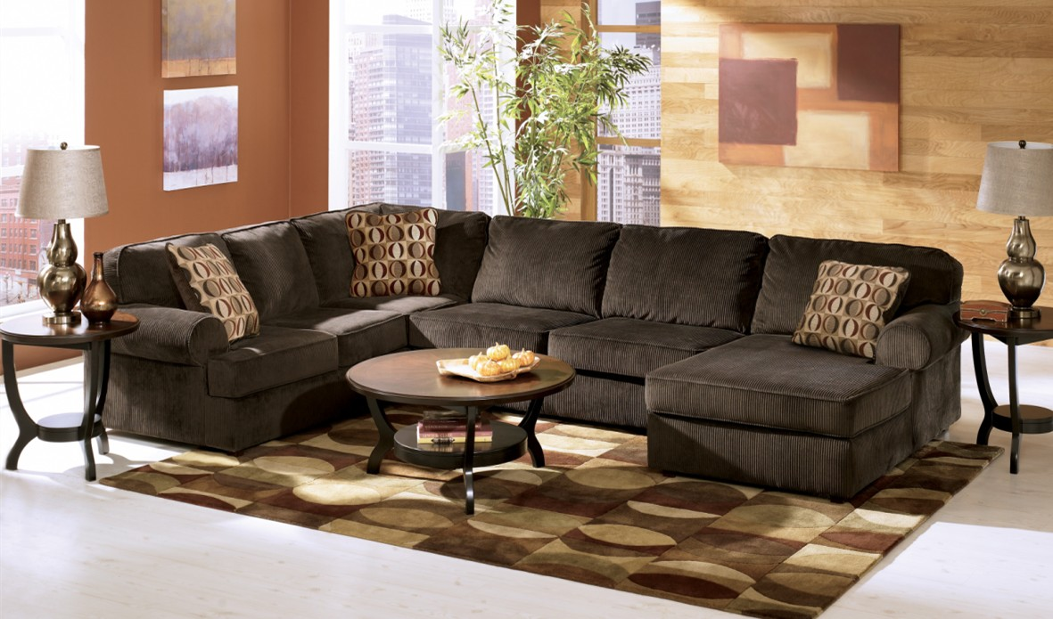 Ashley Furniture Chocolate Sectional