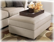 Ashley Laken - Mocha 70704011 Oversized Accent Ottoman