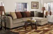 ASHLEY 7070417-66 Laken-Mocha Sectionals