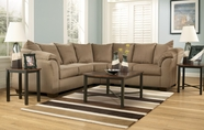 ASHLEY 7500255-56 Darcy Mocha Sectional