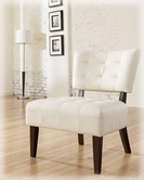 Ashley Matrix - Ivory 7540160 Showood Accent Chair