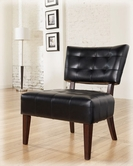 Ashley Matrix - Black 7540460 Showood Accent Chair