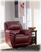 Ashley Magician DuraBlend - Garnet 7610025 Rocker Recliner