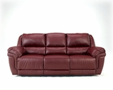 Ashley Magician DuraBlend - Garnet 7610089 Reclining Sofa w/DDT/Massage