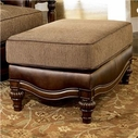 Ashley Claremore - Antique 8430314 Ottoman