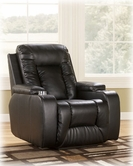 Ashley Matinee Durablend-Eclipse 8740106 Recliner W/ Power-Eclipse