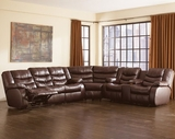 Ashley 91401 Revolution-Burgundy Reclining Sectional