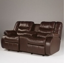 Ashley Revolution - Burgundy 9140194 Double Reclining Loveseat w/Console