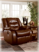 Ashley Revolution - Saddle 9140227 Glider Recliner