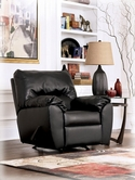 Ashley DuraBlend - Onyx 9420025 Rocker Recliner