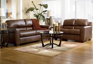 ASHLEY 9420238-35 DuraBlend-Bark Living Room set