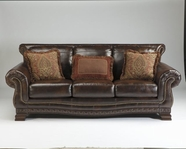 ASHLEY 9430038 Ledelle DuraBlend - Antique SOFA