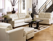 Ashley 94602 Durablend-Ivory Leather Sofa Set