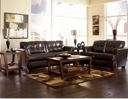 ASHLEY 9460338-35 DuraBlend Chocolate Living Room Set