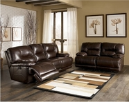 ASHLEY 9500086-88 Bromley-Brown Reclining Living Room Set
