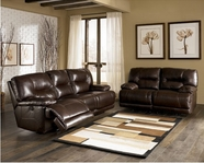 ASHLEY 9500087-74 Bromley-Brown Reclining Living Room Set
