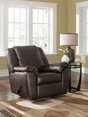 Ashley DuraBlend - Cafe 9880025 Rocker Recliner