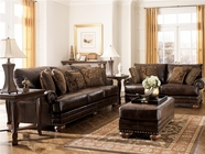 ASHLEY 99200 DuraBlend-Antique Leather Sofa Set