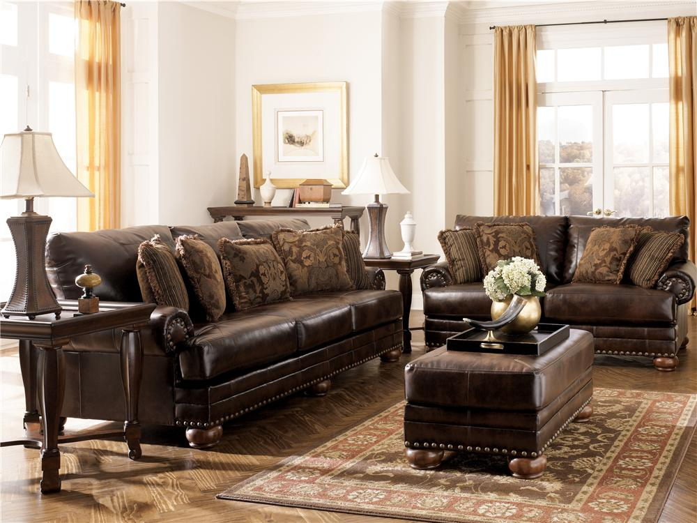 Ashley 9920038 35 Durablend Antique Living Room Set
