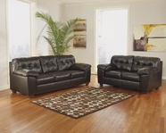 Ashley Alliston Durablend-Chocolate 2010138-2010135 Sofa Set