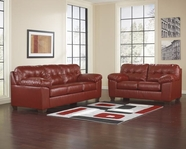 ASHLEY Alliston DuraBlend-Salsa 2010038-2010035 Sofa Set
