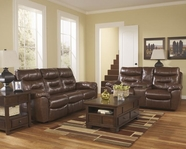 ASHLEY Arjen 2030087-2030096 Reclining Sofa Set With Power