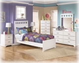 Ashley Lulu B102-21/26/51/52/82 Twin Panel Bedroom Set