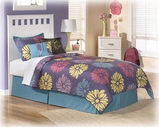 Ashley Lulu B102-51/52/82 Twin panel bed